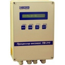Процессор весовой ПВ-310 для дозатора весового ленточного типа ДВЛ