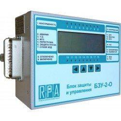 Микропроцессорный блок защиты и управления БЗУ-2-11