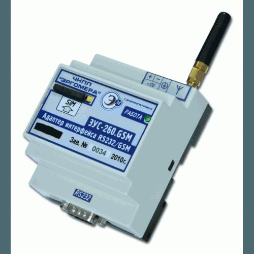 Адаптер интерфейса RS232/GSM (ExibIIA X) ЭУС – 260.GSM