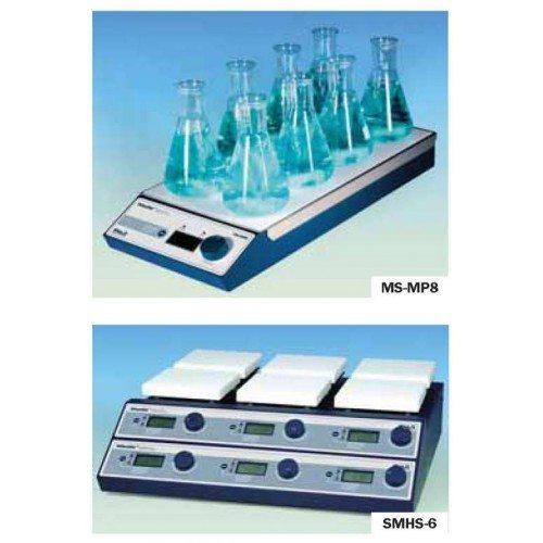 Магнитные мешалки MS-MP4, MS-MP8, SMHS-3, SMHS-6