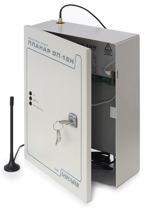 Объектовый прибор «Планар ОП-16н GSM»