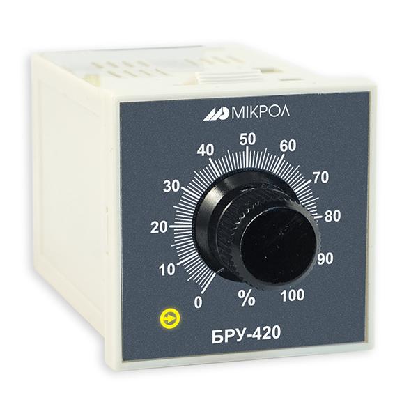 Блок ручного управления БРУ-420